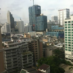 Photo taken at Grand Sukhumvit Hotel Bangkok by Katya G. on 6/8/2012
