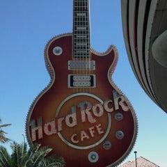 Photo taken at Hard Rock Cafe Las Vegas at Hard Rock Hotel by Joe P. on 7/27/2012