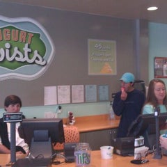 Photo taken at Yogurt Twists by Connie W. on 4/4/2012