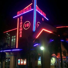 Photo taken at Regal Cinemas Kendall Village 16 IMAX & RPX by Danny N. on 5/4/2012