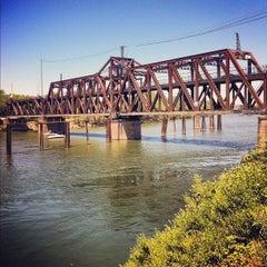 Photo taken at I Street Bridge by Ben on 7/13/2012