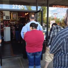 Photo taken at Jimmy John's by Sara B. on 5/10/2012