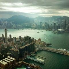 Photo taken at The Ritz-Carlton, Hong Kong by Geoffrey W. on 2/25/2012