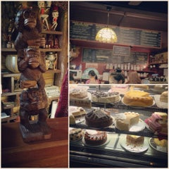 Photo taken at Three Monkeys Coffee & Tea House by Business A. on 8/5/2012