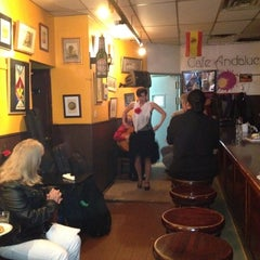 Photo taken at Cafe Andalucia by David L. on 4/2/2012