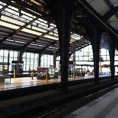 Photo taken at Bahnhof Berlin Friedrichstraße by Eteri on 6/22/2012