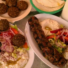 Photo taken at House of Falafel by Paul H. on 4/7/2012