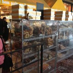 Photo taken at Au Bon Pain by Kristal K. on 5/18/2012