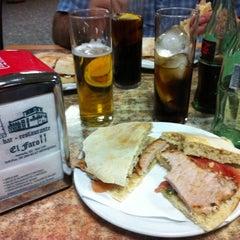 Photo taken at Bar Restaurante El Faro by Martha M. on 5/11/2012