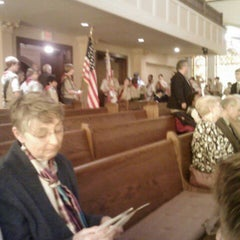 Photo taken at Plymouth Congregational Church by Valentino H. on 2/25/2012