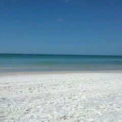 Photo taken at Coquina Beach by Jhob on 3/6/2012