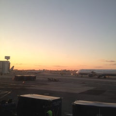 Photo taken at Concourse C by Tim J. on 4/4/2012