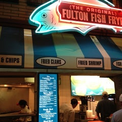 Photo taken at (The Original) Fulton Fish Frye by John L. on 7/2/2012