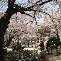 Photo taken at 両国公園 by Hoge H. on 4/10/2012