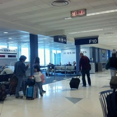 Photo taken at Gate F8 by Keven K. on 4/22/2012