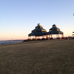 Photo taken at Raritan Bay Waterfront Park by Dan A. on 2/17/2012
