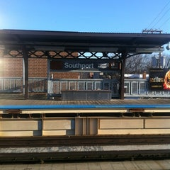 Photo taken at CTA - Southport by Stephanie G. on 3/13/2012
