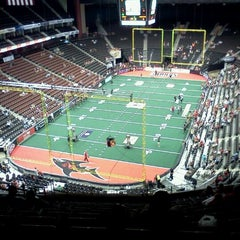 Photo taken at Jacksonville Veterans Memorial Arena by David A. on 5/19/2012