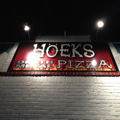 Photo taken at Hoek's Death Metal Pizza by Denise H. on 3/12/2012
