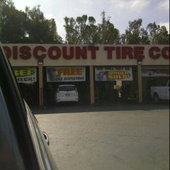 Photo taken at Discount Tire® Store by Tony N. on 3/15/2012
