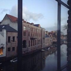 Photo taken at Ghent River Hotel by Мария Н. on 11/28/2015