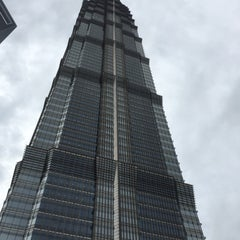 Photo taken at 金茂大厦 Jin Mao Tower by Sung L. on 9/30/2015