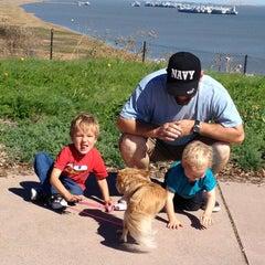 Photo taken at Vista Point - Benicia by Stephanie E. on 10/16/2012