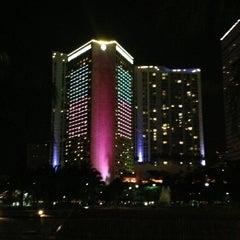 Photo taken at InterContinental Miami by Anton G. on 7/12/2013