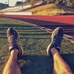Photo taken at Foothill College Football Field by Ali S. on 4/3/2014