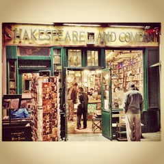 Photo taken at Shakespeare & Company by Pavel I. on 5/6/2013