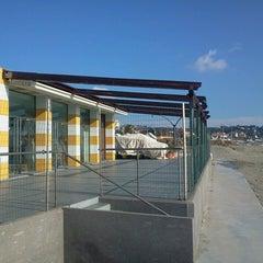 Photo taken at Bagni Acqua Limpida by Davide P. on 1/28/2014