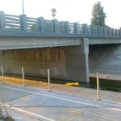Photo taken at LA River Bike Path by chris m. on 9/9/2013