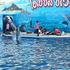 Photo taken at Oasis Sea World (โอเอซิส ซีเวิลด์) by Montol T. on 3/10/2013