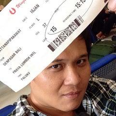 Photo taken at Gate 15 by Pakawat U. on 1/16/2014