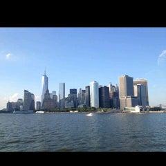 Photo taken at Staten Island Ferry - Whitehall Terminal by Nikita R. on 7/22/2013