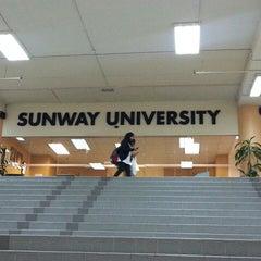 Photo taken at Sunway University by Solah W. on 1/2/2014