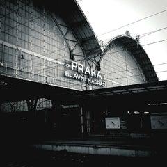 Photo taken at Prague Main Railway Station by Lukas F. on 12/22/2012
