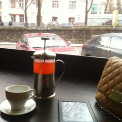 Photo taken at Coffee Life by Daria R. on 3/17/2013