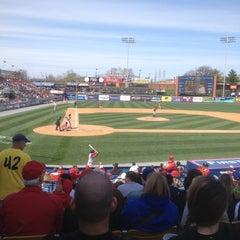 Photo taken at FirstEnergy Stadium by Bob on 4/15/2013