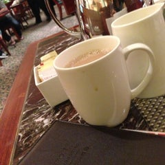 Photo taken at Marriott Cafe by ellie ʕ. on 6/17/2013