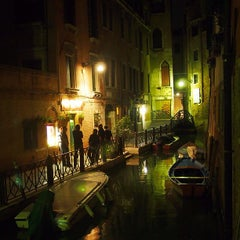 Photo taken at Campo San Stefano by Jill S. on 4/27/2013