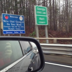 Photo taken at Georgia / South Carolina State Line by Paul A. on 3/23/2013