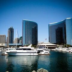 Photo taken at San Diego Marriott Marquis & Marina by Jeffrey Z. on 5/19/2013