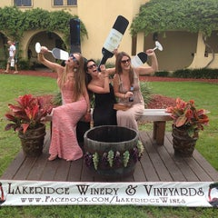 Photo taken at Lakeridge Winery & Vineyards by Meaghan B. on 4/13/2013
