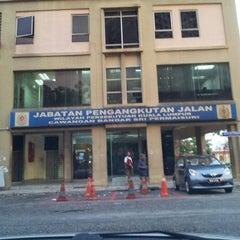 Photo taken at Jabatan Pengangkutan Jalan (JPJ) by Lily Y. on 3/25/2013