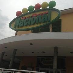 Photo taken at Supermercado nacional by Elizaveta B. on 7/11/2013