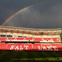 Photo taken at Rio Tinto Stadium by Osva on 7/14/2013