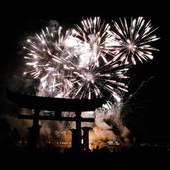 Photo taken at IllumiNations: Reflections of Earth by Alex G. on 10/2/2012