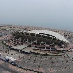 Photo taken at استاد جابر الأحمد الدولي by Kaifan5 B. on 4/17/2014