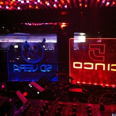 Photo taken at Cinco Club by DJ Sid V. on 10/19/2012